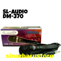 "MIK/MIC/MICROPHONE KABEL ""SL AUDIO"" DM-370 MURAH"
