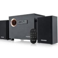 MICROLAB M105 R, 2.1 SUBWOOFER SPEAKER with USB, SD Card, Radio