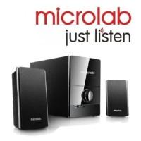 MICROLAB M500U 2.1 SUB BK Speaker With USB, SD Card