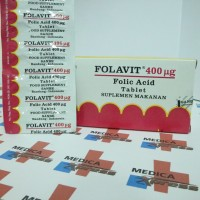 Folavit 400 mc Tablet