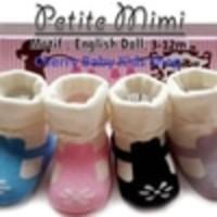 #Baju & Sepatu Bayi Kaos Kaki Girl Petite Mimi English Doll 3-12 M