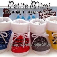 #Baju & Sepatu Bayi Kaos Kaki Boy Petite Mimi Tali1 3-12 M