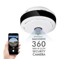 Mini IP Camera Fisheye Panoramic WiFi 1.3MP - 360 derajad