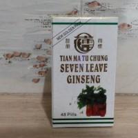 Seven Leave Ginseng - Tian Ma Tu Chung - Obat Nyeri