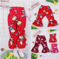 Trumpet Pants uk. 3-5 th / Celana Cutbray Anak Perempuan Legging Pants