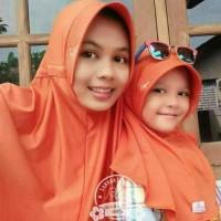 Jilbab Kerudung Couple Ibu dan Anak Plain Laura Miulan Hijab