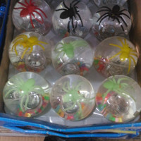 Bouncing ball glitter ball water ball Bola bekel besar murah