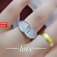 PRODUCK TERBARU cincin cantik emas putih