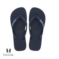 FRENCHIE Sandal Jepit Pria Black BOLD SBO01 - 41