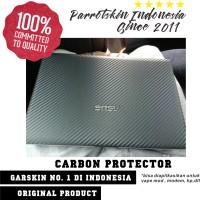 Original! Garskin Skin Carbon Transparan Clear Laptop case Protection