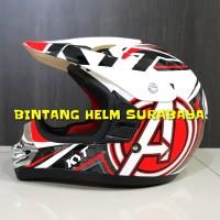 Helm Anak KYT Cross Pro Junior Avemgers White