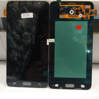 LCD 1 SET SAMSUNG GALAXY J710 J7 2016 ORIGINAL BLACK BISA ATUR CONTRAS