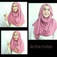 phasmina instan jilbab hijab amira kerudung pastan scraf polos