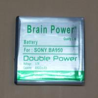 Batre / Batrai / Battery / Baterai Brain Power Sony BA 950 / ZR