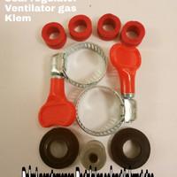 Paket pengaman seal Regulator sil selang tabung kompor gas