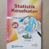 Original | Buku STATISTIK KESEHATAN | Supriyadi | Salemba