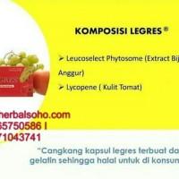 Legres Antioksidan Ekstrak Kulit Tomat & Biji Anggur (30 Kapsul)