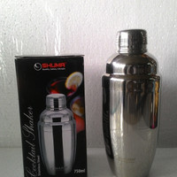 Cocktail Shaker - Pengocok/Kocokan Minuman/Wine/Bubble 750cc SHUMA