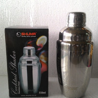 Cocktail Shaker - Pengocok/Kocokan Minuman/Wine/Bubble 550cc SHUMA