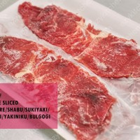 500gr AUS Beef Knuckle Slice Komagire Korean BBQ Sukiyaki Shabu