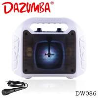 Dazumba DW086 Portable Speaker Bluetooth - Putih