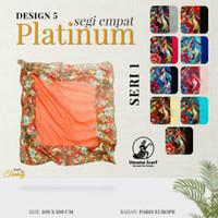 Jilbab Umama Platinum Seri 1 Motif 5 / Hijab Segiempat Paris Europe
