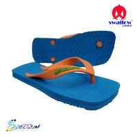 Sandal Swallow Premium Spectrum Pria RoyalBlue – Tali Orange