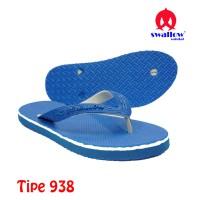 Sandal Swallow Original Tipe 938 - Biru (Size 9 - 12)