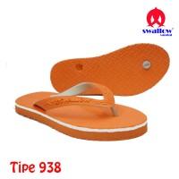 Sandal Swallow Original Tipe 938 - Orange (Size 9 - 10.5)