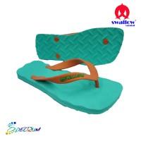 Sandal Swallow Premium Spectrum Pria GreenMint – Tali Orange