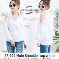 Shoulder top white