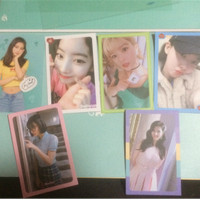 (OFFICIAL TWICE) Photocard & Transparent Postcard TWICE What is Love?