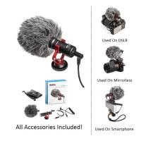 Boya Microphone BY MM1 - Setara Rode Micro - For DSLR & Smartphone