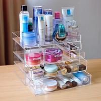 Akrilik makeup organizer/Rak kosmetik /Akrilik kosmetik i6