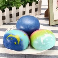 Squishy Galaxy Star Pao / Bun / Burger / Bread Jumbo gratis Packing