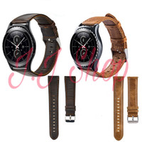 Leather Strap Kulit Samsung Galaxy Gear S2 Classic Tali Jam Smartwatch