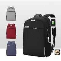 Smart Back Pack / Tas Anti Maling + USB Port