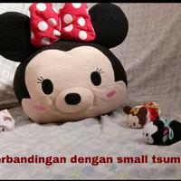 Boneka Tsum Tsum Plush Size Jumbo Besar Large Mega 60cm Minnie UK RARE