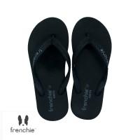 FRENCHIE Sandal Jepit ONYX COZY SOM03 Black Grey - 37