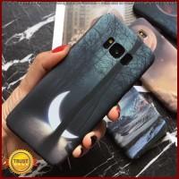 FC1932 Starry Sky Moon Stars Mountain Landscape Phone Cases For Samsun
