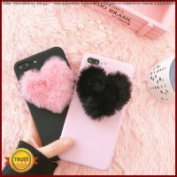 FC1325 Japan Korea 3D love plush super cute soft case for iphone 5 5s