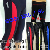Celana Renang Pria / Cowok 7/8 speedo Size XXL
