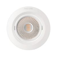 Philips Downlight KYANITE 070 5W 40K WH Natural Recessed LED