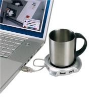 Heater Pad 4 Port USB Hub Tea Coffee Cup Mug Warmer