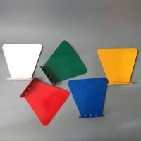 RT2446 Modern stainless logam Mengambang Rak Buku rak buku dinding rak