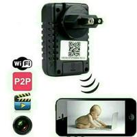 Spy Cam Kamera Pengintai Adaptor WIFI Full HD