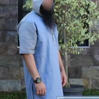 gamis Pakistan hodie katun al amwa muslim-baju kurta pria dewasa amwa