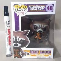 Mainan action figure  Rocket Racoon Guardian of the Galaxy Funko Pop 4