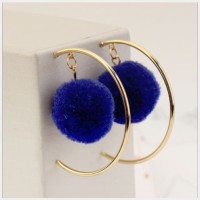 Anting Pompom / Anting Hoops / Anting Bulat/ BOOX