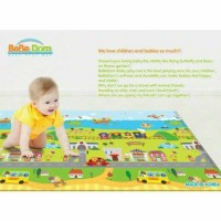 BeBeDom Baby PlayMat - Fun Travel / Karpet Alas Main Bayi Korea